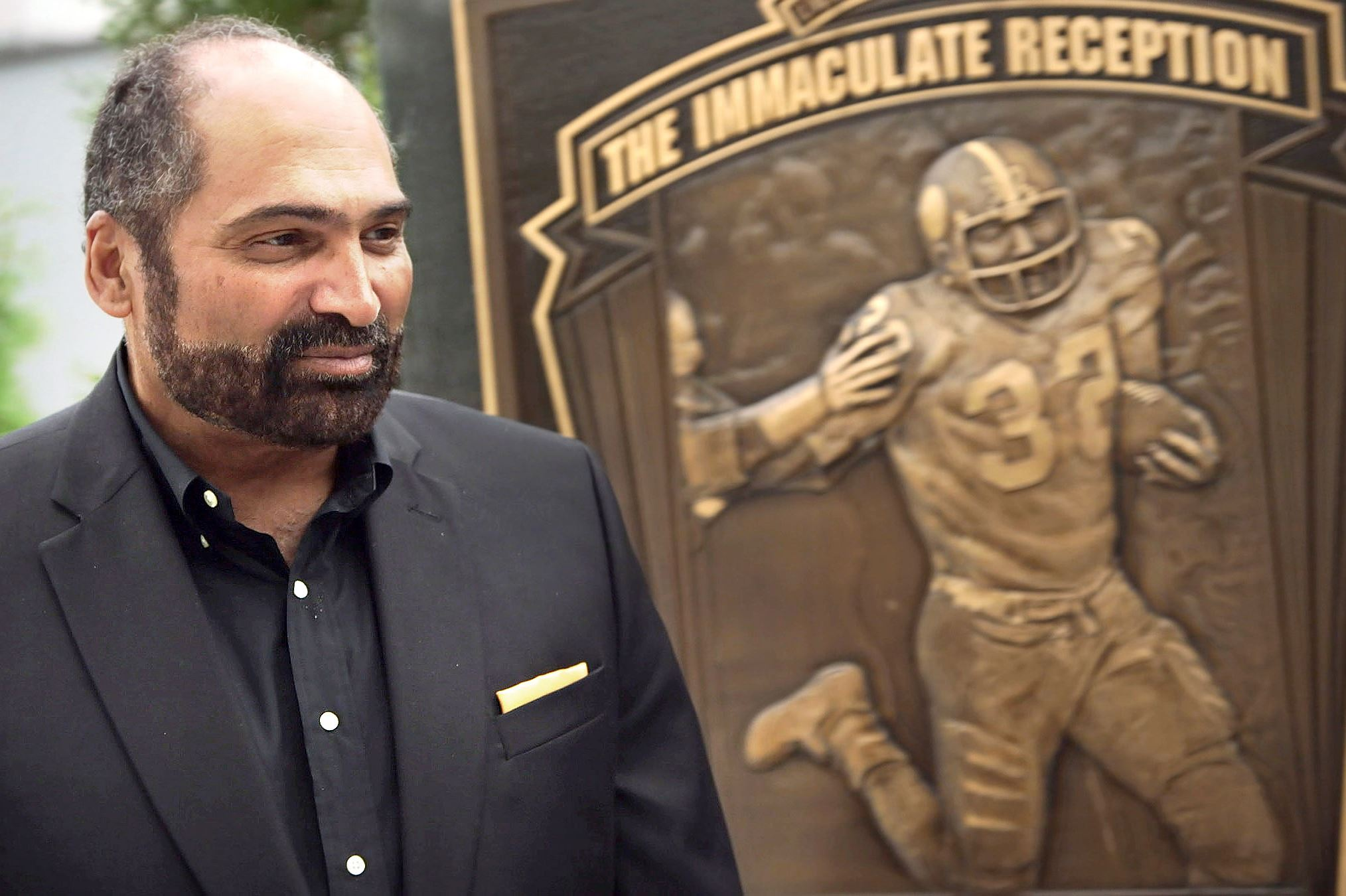 Franco harris franco harris is featured in the quot immaculate reception