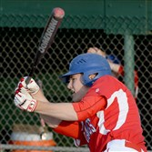 Laurel Highlands' Hudson Novak has five homers so far this season.