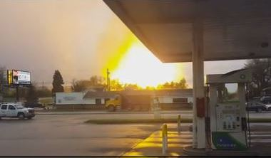 gas well westmoreland 04292016 The view from Route 22 when a pipeline exploded in Salem Township, Westmoreland County, on April 29.