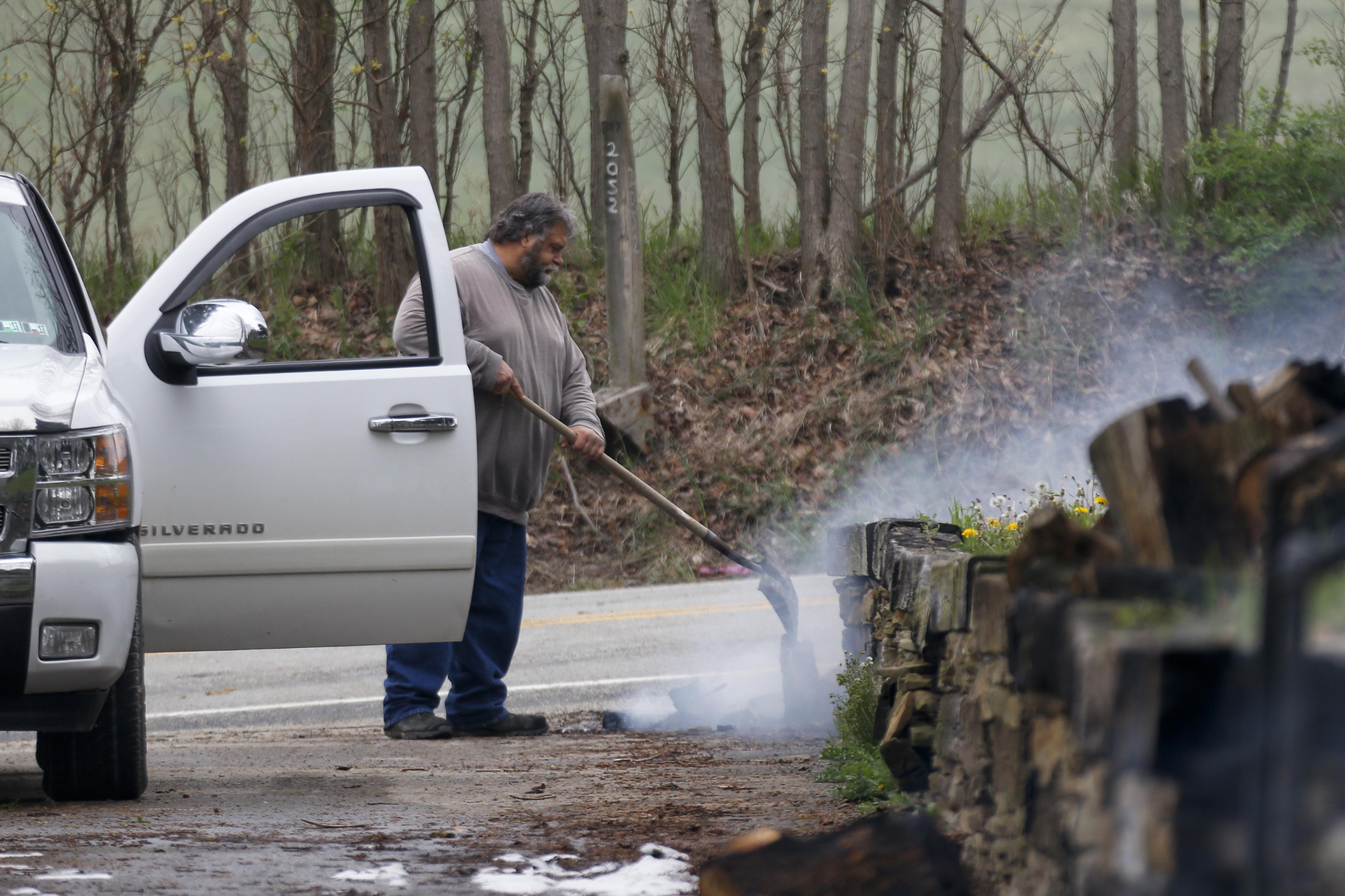 Gas Explosion Causes Huge Fireball Burns Homes Fleeing Man