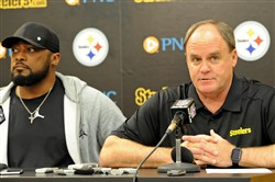Steelers head coach Mike Tomlin and general manager Kevin Colbert discuss the team's 2016 draft class Saturday on the South Side.