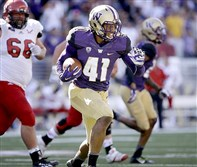 The Pittsburgh Steelers took University of Washington linebacker Travis Feeney in the 6th round of the 2016 NFL Draft.