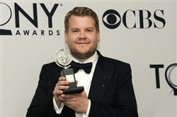 "James Corden, who won a Tony for his ""One Man, Two Guvnors"" star turn in 2012, will host the 2016 Tony Awards ceremony on June 12."