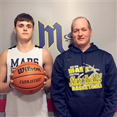 Mars basketball coach Rob Carmody and his son, Robby, are running in the recruiting fast lane.