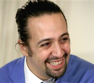 "Lin-Manuel Miranda, creator and star of the Broadway musical ""Hamilton,"" participated in a student workshop at the White House on March 14."