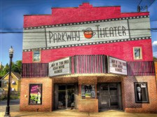 The Parkway Theater in Stowe: the little cinema that could