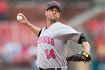 Pirates pitcher Ryan Vogelsong went seven innings during a rehab start Wednesday night.