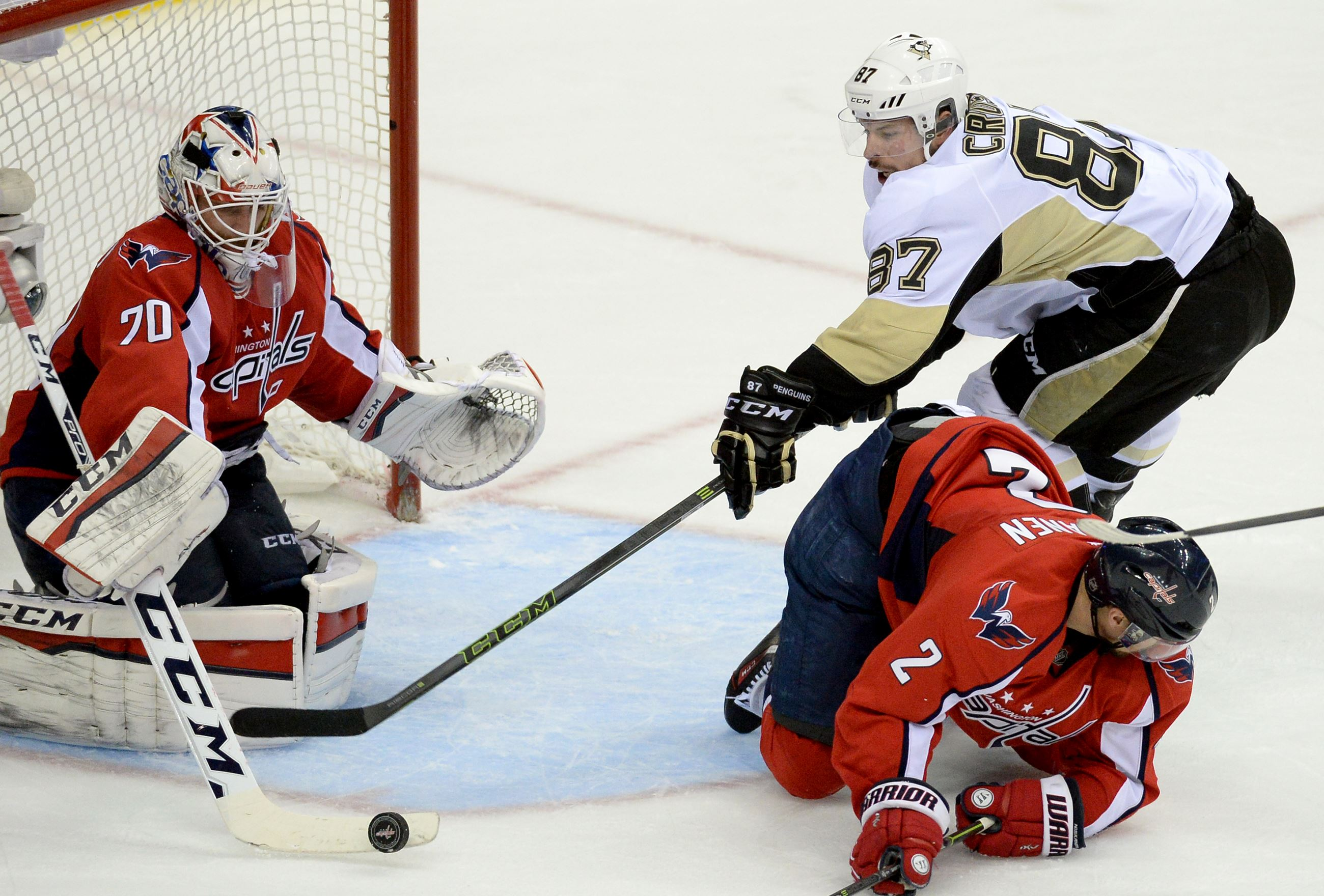 Capitals send Penguins home with a loss