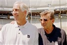 In a request to unseal insurance documents, media groups, which include the Pittsburgh Post-Gazette, say details contained in those files could address whether Joe Paterno was told in the 1970s about molestation accusations against assistant coach Jerry Sandusky, left. The two were photographed together in 1999.