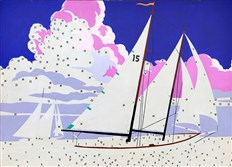 "Andy Warhol's ""Do It Yourself (Sailboat),"" 1962"