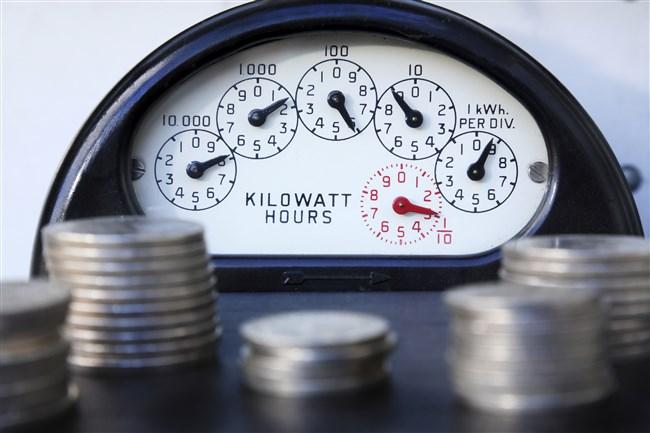 Electricity meter, money, net metering, powersource