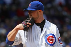 Jon Lester's problems throwing to first to hold baserunners might be something the Cleveland Indians can exploit in the World Series opener Tuesday night against the Chicago Cubs.