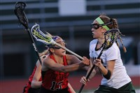 Pine-Richland's Marina Miller, right, has 231 career goals.