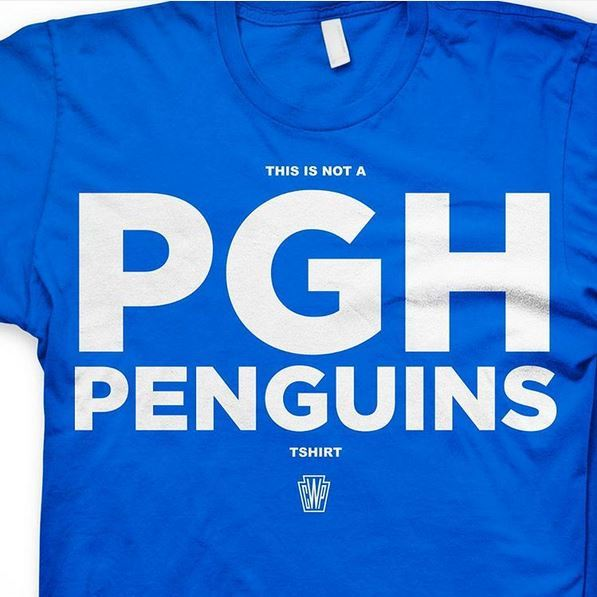 Note to Tampa: This is not a Penguins shirt