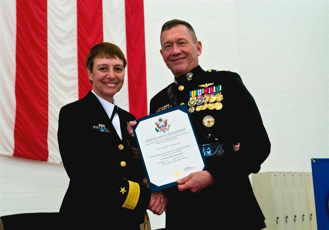Westmoreland County native retires as rear admiral | Pittsburgh Post