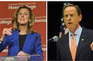 Democratic senate candidate Katie McGinty and Republican U.S. Sen. Pat Toomey.