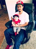 Ronald D. Williams Jr., shot and killed by a Weirton police officer May 6 after a domestic dispute. He is shown here earlier in 2016 with his now 5-month-old son.
