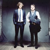 Folk duo Milk Carton Kids: Joey Ryan and Kenneth Pattengale.