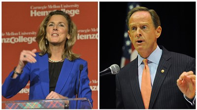 Monmouth poll shows McGinty with slight lead, Clinton with a commanding one