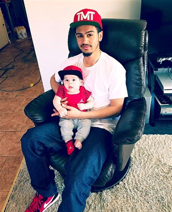 Ronald D. Williams Jr., shot and killed by a Weirton police officer May 6 after a domestic dispute. He is shown here earlier in 2016 with his son.