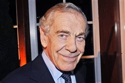 "Morley Safer in 2008 during the  40th anniversary celebration of ""60 Minutes"" in New York."