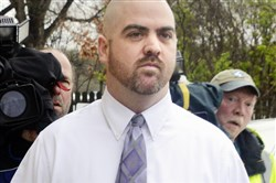 Jason Cooper in 2015 after a preliminary hearing