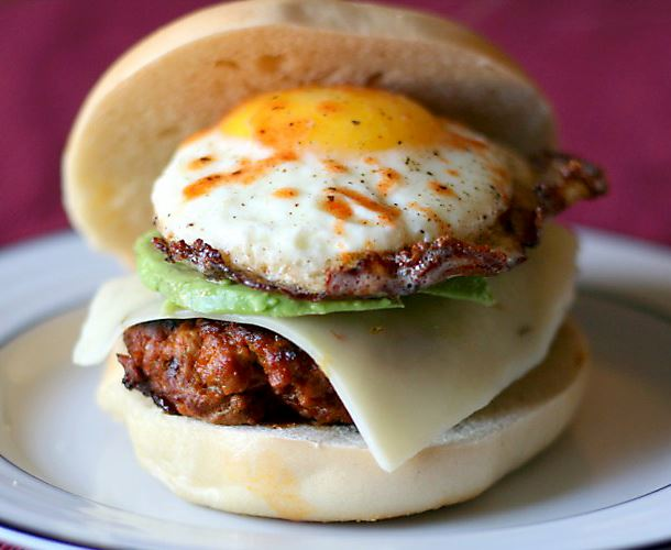 Chorizo and Egg Breakfast Sandwich Breakfast sandwiches are more popular than ever.