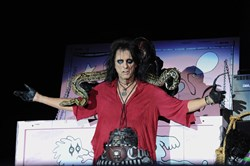 Alice Cooper at Stage AE on Friday.