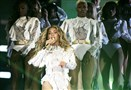 Beyonce performs during the Formation World Tour at Levi's Stadium last Monday in Santa Clara, Calif.