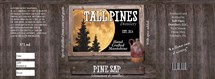 Label for one of the forthcoming moonshines from Tall Pines Distillery in Somerset.