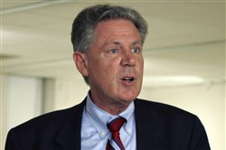 In this June 10, 2013 file photo, Rep. Frank Pallone, D-New Jersey, speaks in Trenton, N.J.