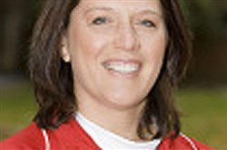 Kelly Kovach Schoenly, a Baldwin grad who is head softball coach at Ohio State