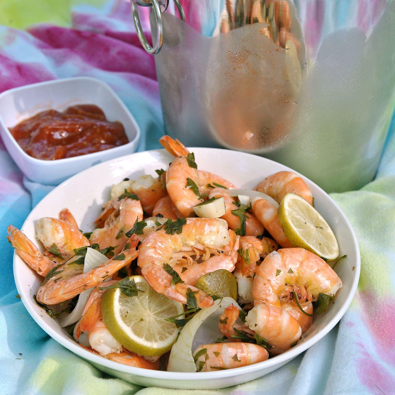 beachcookbook0601_shrimp_beer_food Shrimp 'n' Beer