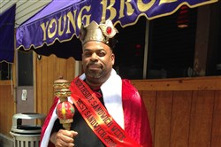 Brian Overbey, a chef at Young Brothers Bar, is king of this year's Northside Sandwich Week.