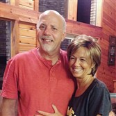 Leslie Wineberg, 59, of Gaskill Twp., Jefferson County, which is near Punxsutawney, with her husband, Dennis Wineberg. She was the first in the region to undergo the new NanoKnife Irreversible Electroporation procedure to kill pancreatic tumors.