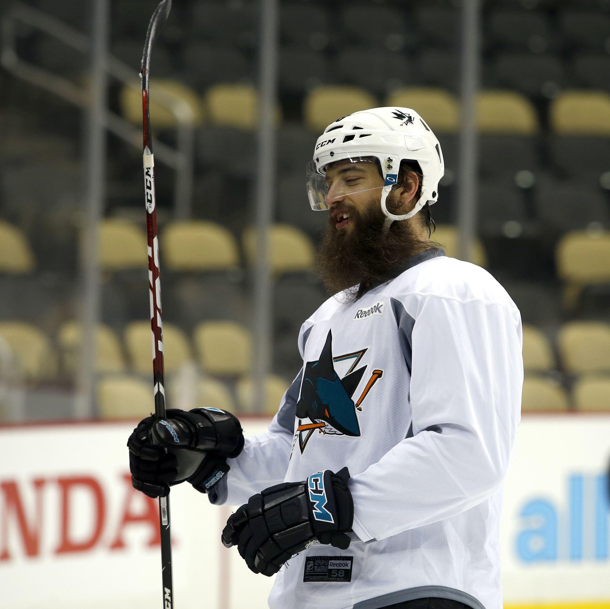 Sharks not drastically retooling ahead of Game 3 against Penguins