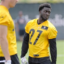 Hopes are high for cornerback Senquez Golson as he returns to practice after missing all of his rookie season because of injury.