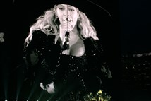 Beyonce screen shot at Heinz Field on Tuesday.
