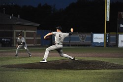 Norwin starter Chad Coles delivers against Plum in the Class AAAA WPIAL championship Wednesday at Consol Energy Park.