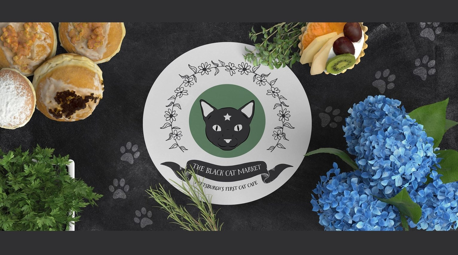 The Black Cat Market would be Pittsburgh's first cat cafe.