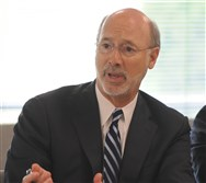 Pennsylvania Governor Tom Wolf headed a roundtable discussion about the opioid epidemic in Washington County on June 3.