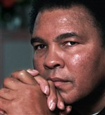 Boxing legend Muhammad Ali is shown in this Tuesday Feb. 2, 1999 file photo.