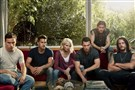 """Animal Kingdom"" cast, from left, Finn Cole, Scott Speedman, Ellen Barkin, Sean Hatosy, Jake Weary and Ben Robson."