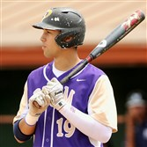 Plum's Alex Kirilloff prepares to bat during a PIAA playoff game earlier this month.