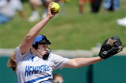 Morgan Ryan will face her toughest pitching opponent yet today when Hempfield takes on Maggie Balint and Avon Grove.