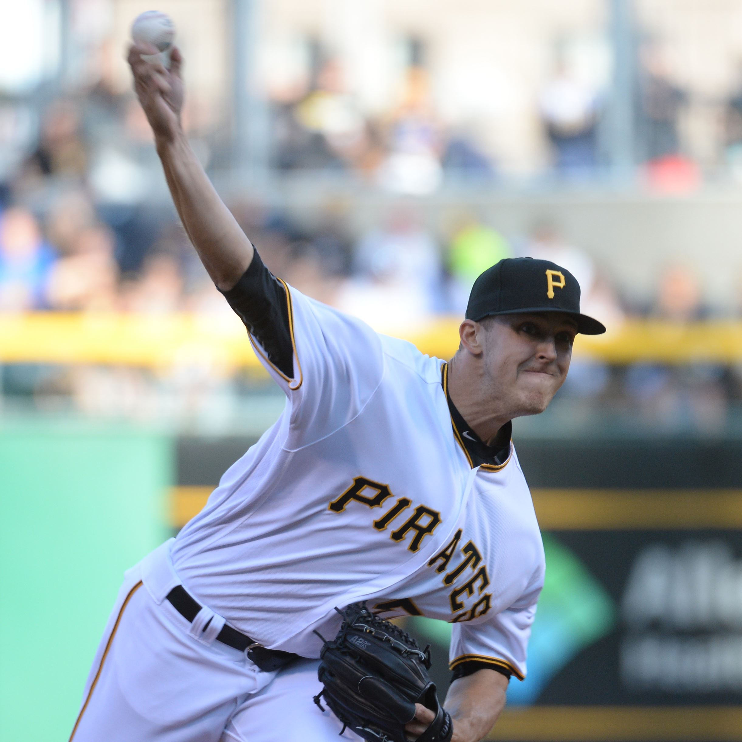 Pirates' starter Jameson Taillon records first career win