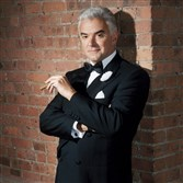 "John O'Hurley in ""Chicago."""
