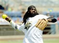 Steelers wide receiver Sammie Coates warms up for the game at the Antonio Brown & Friends Celebrity Softball Game Saturday at Consol Energy Park in Washington, Pa.