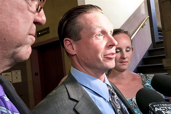 Drew Zoldak 061316 Drew Zoldak addresses the media in June after he was found not guilty of witness intimidation.
