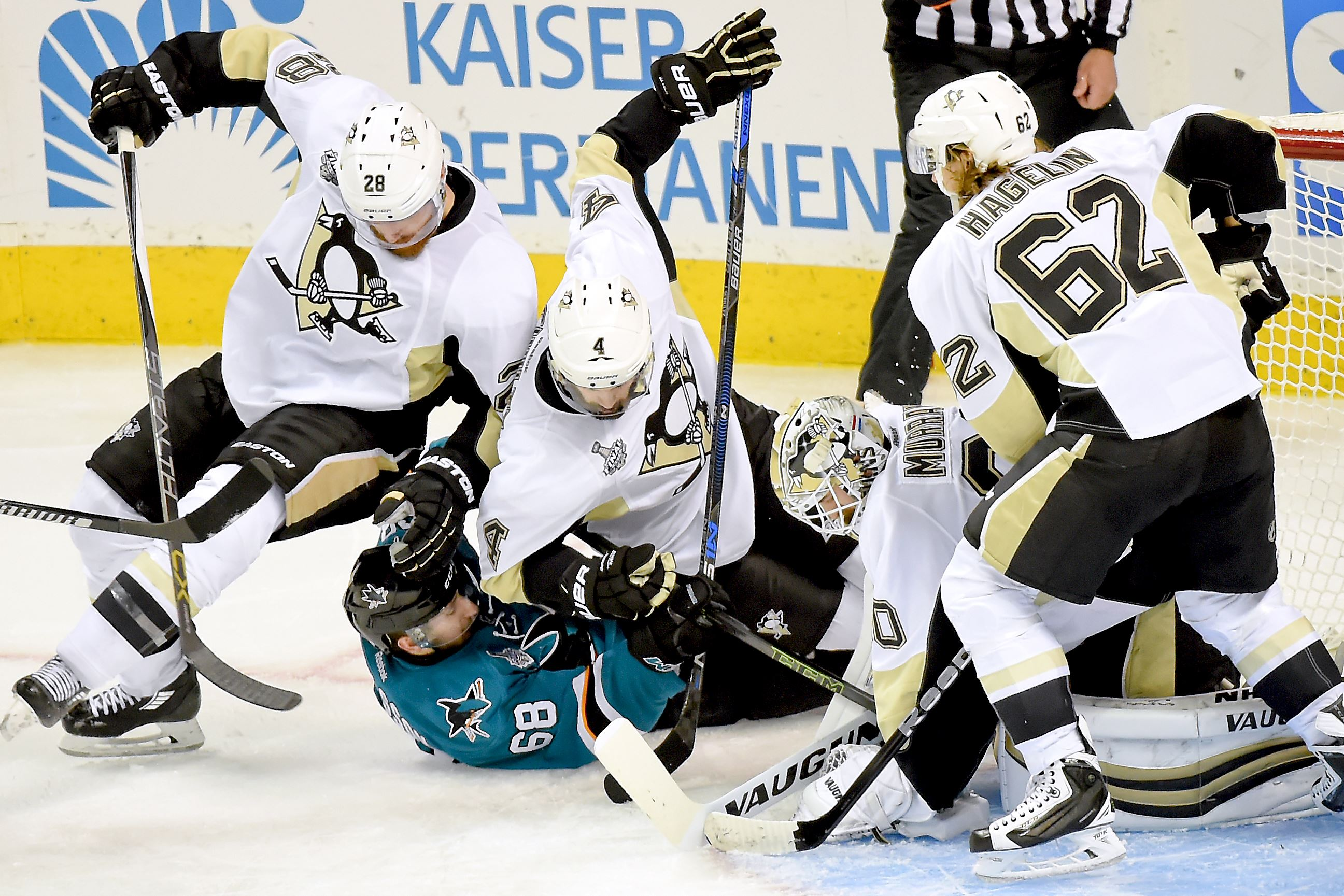 Penguins notebook: Penalty killers shine against lethal Sharks power play
